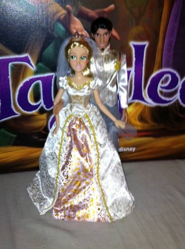 Rapunzel & Eugene Tangled Ever After dolls
