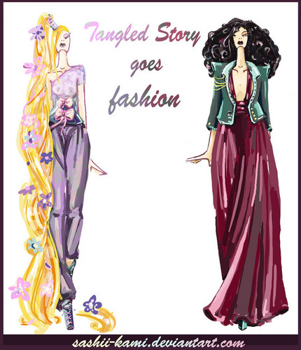 Rapunzel and Mother Gothel