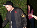 Rob and Kristen out of a Pre-Oscar Party - twilight-series photo