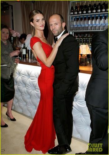 Rosie Huntington-Whiteley & Jason Statham - Vanity Fair Oscar Party