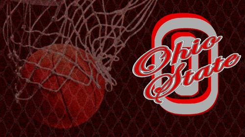 SCARLET AND GRAY OHIO STATE basketbol