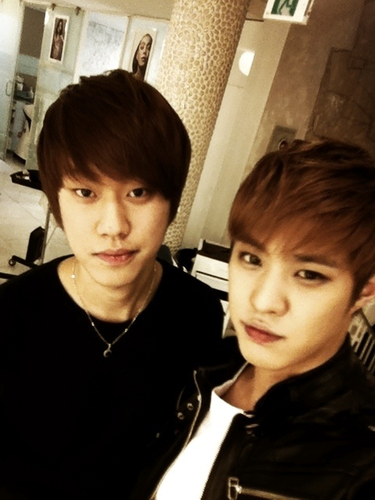 Seungho & his brother
