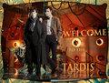 Sherlock in the Tardis
