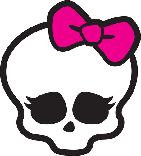 Monster High kertas dinding titled Skullette