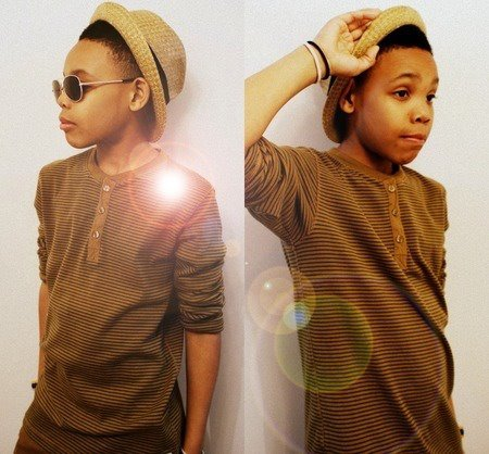 Prodigy (Mindless Behavior) wallpaper titled So cute!! Looks just like his big Bro!!