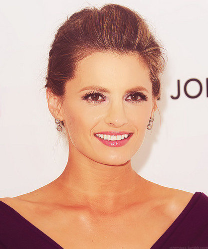 dacastinson and _naiza wallpaper with a portrait entitled Stana Katic *-*