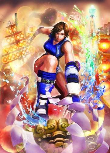 rua Fighter XTekken chars.