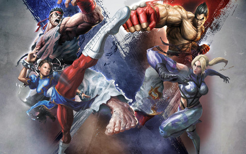 rua Fighter XTekken chars.