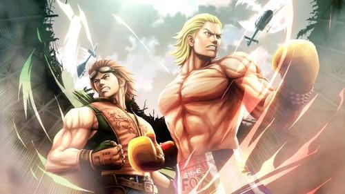 Street Fighter XTekken chars.