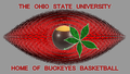 THE OHIO STATE universiteit home pagina OF BUCKEYE basketbal
