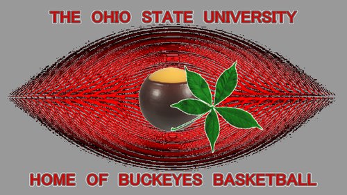 THE OHIO STATE università home OF BUCKEYE pallacanestro, basket