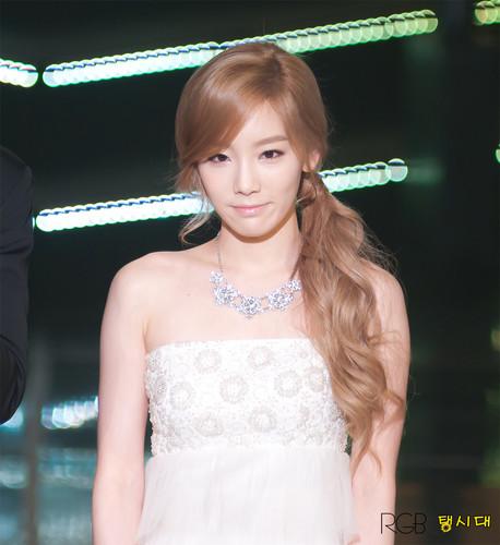 Taeyeon @ 1st Gaon Chart kpop Award