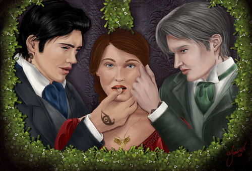Tessa, Will and Jem
