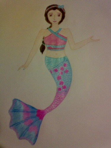 The Asian Ambassador Mermaid