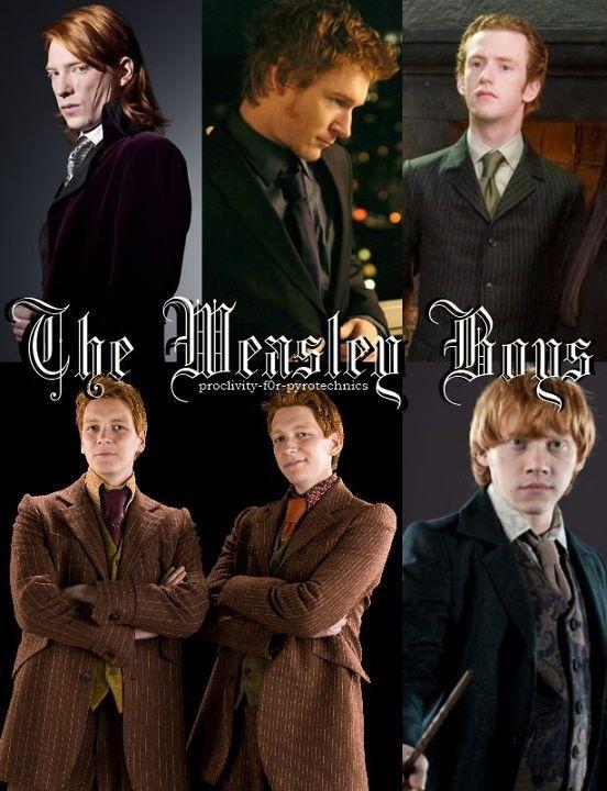 The Weasleys - Harry Potter Photo (29318070) - FanpopCharlie Weasley Actor