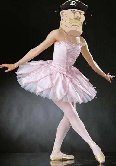 This tutu has been passed down the Armstong line for generations!