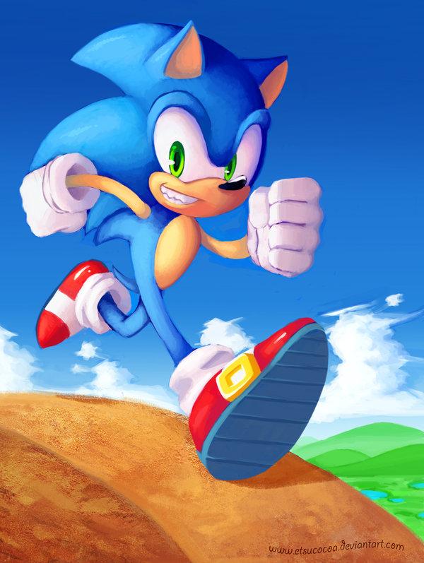 Time For A Run Sonic The Hedgehog Fan Art 29355114 Fanpop