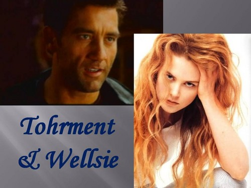 The Black Dagger Brotherhood wallpaper with a portrait called Tohrment & Wellsie