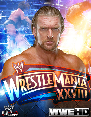 Triple H Wrestlemania Poster