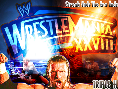 Triple H Wrestlemania वॉलपेपर