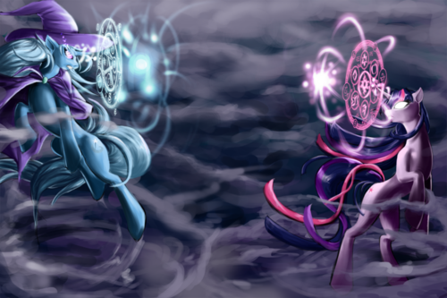 Twilight Vs trixie