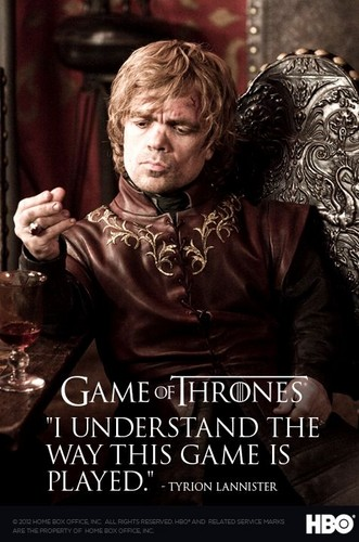 House Lannister wallpaper possibly containing a sign and a portrait entitled Tyrion Lannister poster