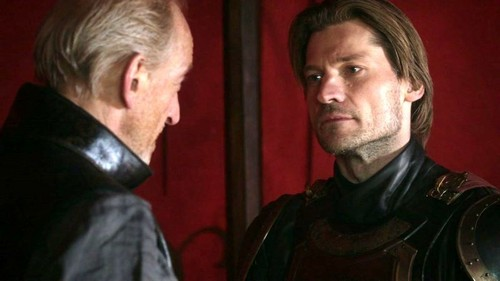 Tywin and Jaime Lannister