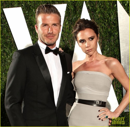 Victoria & David Beckham - Vanity Fair Oscar Party