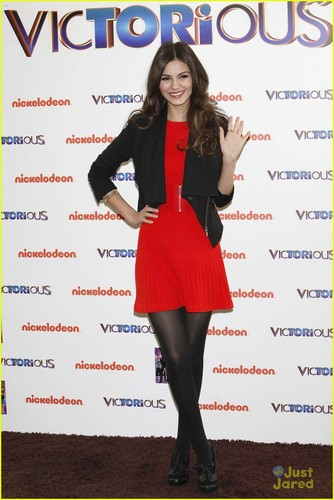 Victoria Justice wallpaper called Victoria Justice: 'Victorious' in Madrid!