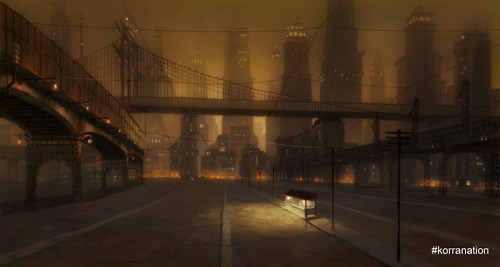 View of Bridges in Republic City