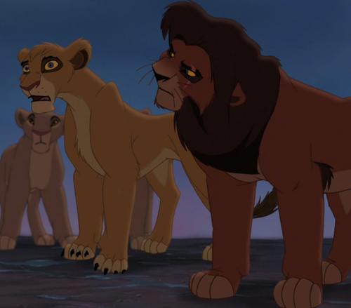 Le Roi Lion fond d'écran containing animé titled Vitani Betrayal