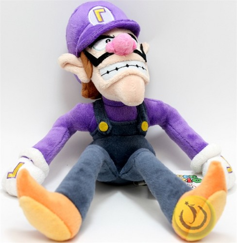 Waluigi plush - super-mario-bros Photo