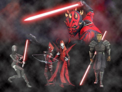 Star Wars wallpaper probably containing anime called Warriors of the Mist