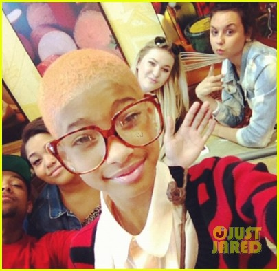 Willow Smith: Bleach Blonde Hair Pics!