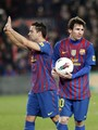 Xavi Hernandez: FC Barcelona (5) v Valencia CF (1) - La Liga
