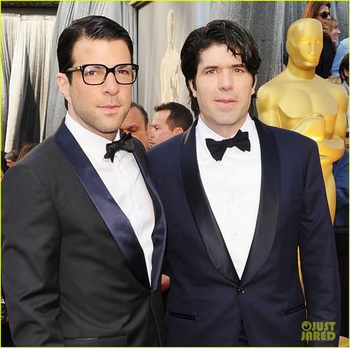 Zachary Quinto - Oscars 2012 Red Carpet