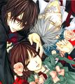 Zero, Kaname, and Yuki