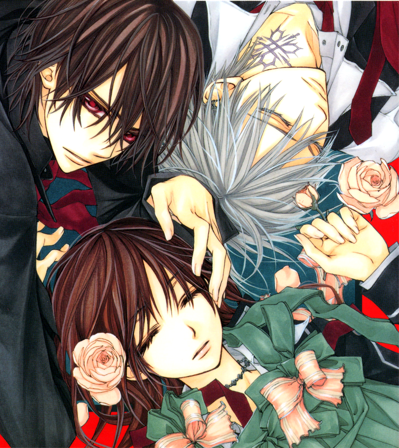 Zero And Yuki Tumblr PictureZero And Kaname Vampire Knight