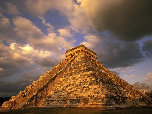 ancient_mayan_ruins_chichen_itza_mexico - ancient-aliens Wallpaper