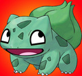 awesome bulbasaur - awesome-face fan art