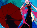 black lady - anime screencap