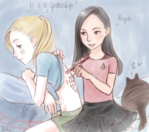 brittana fanart brittany and santana fan art 29358440