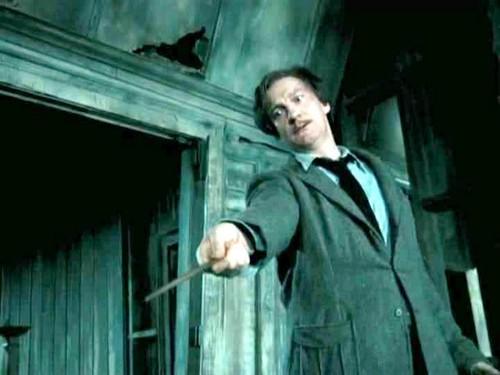 david thewlis as remus lupin and emma watson as hermione granger
