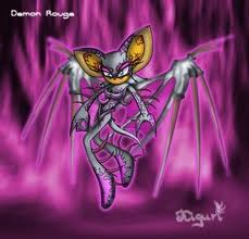 Sonic X wallpaper called demon rouge