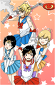 durarara as sailor moon :3
