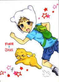 adventure time anime wallpaper possibly containing anime entitled finn and jake