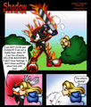 funny shadow - shadow-the-hedgehog fan art
