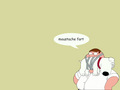 moustache fart - peter-griffin wallpaper