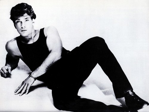 Patrick Swayze wallpaper probably containing a hip boot, tights, and a legging entitled no words,just tears