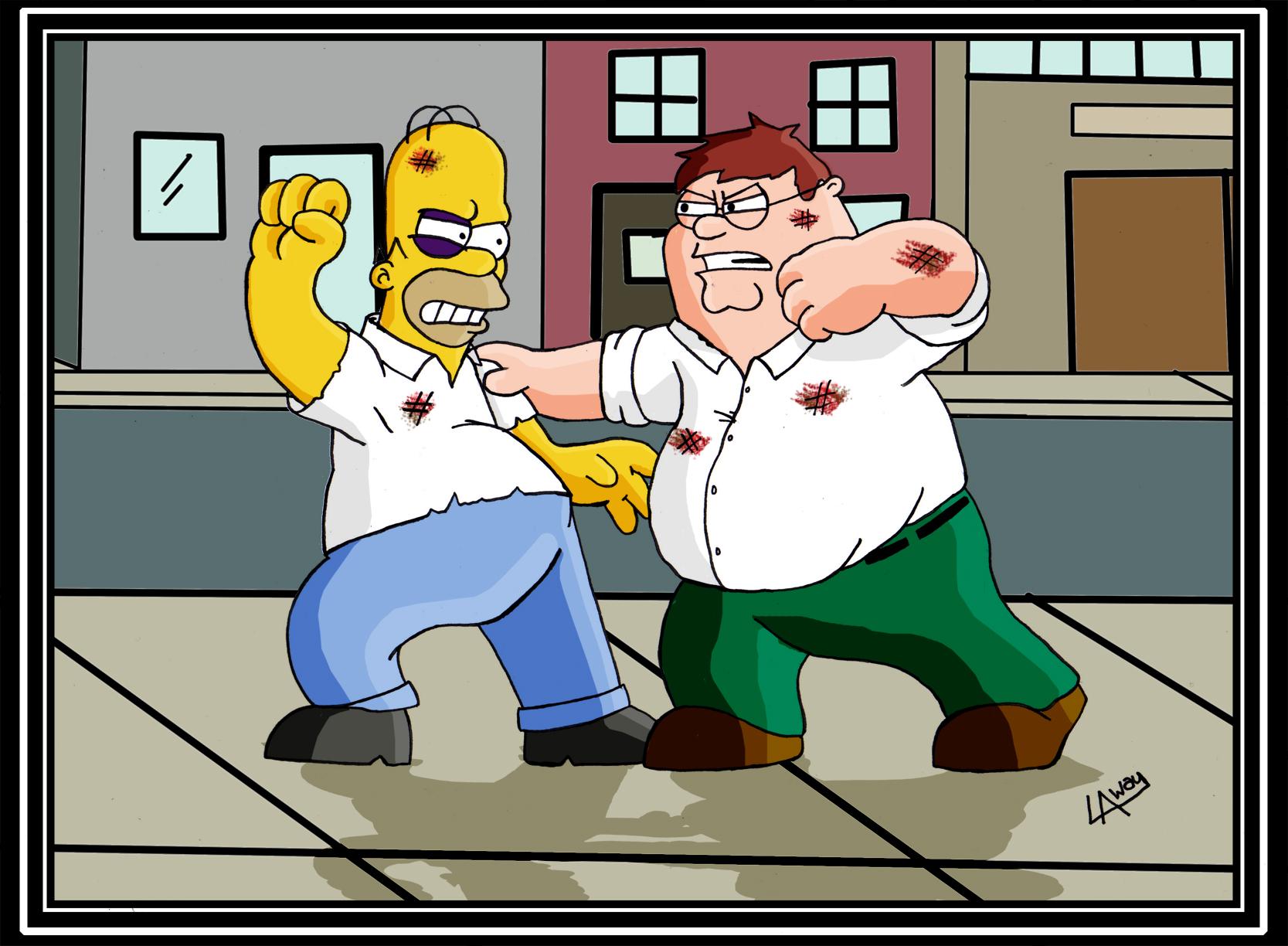 peter vs. homer